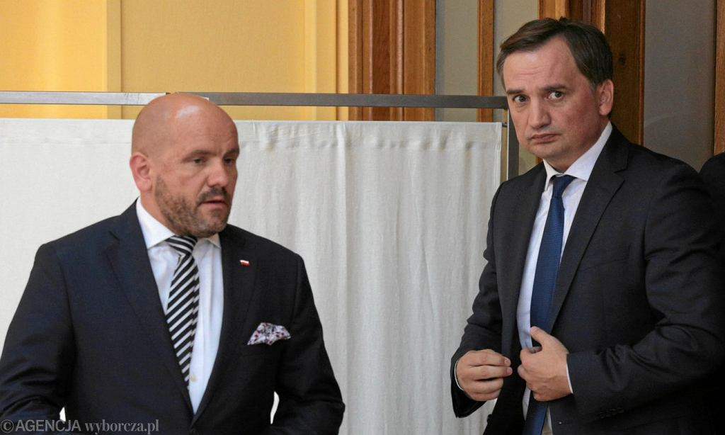 Mariusz Gosek i Zbigniew Ziobro