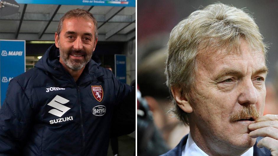 Marco Giampaolo i Zbigniew Boniek