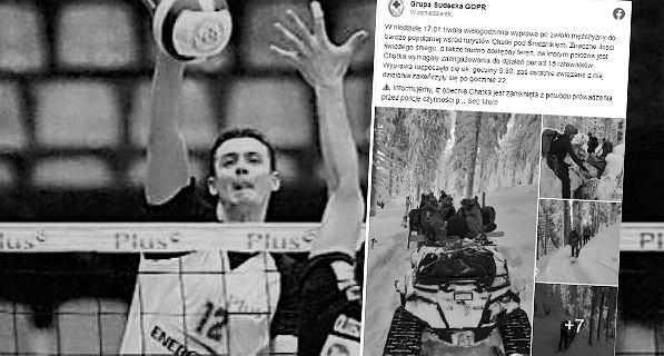 Ciało polskiego siatkarza odnalezione w górskim schronisku. Prokuratura podała przyczyny śmierci