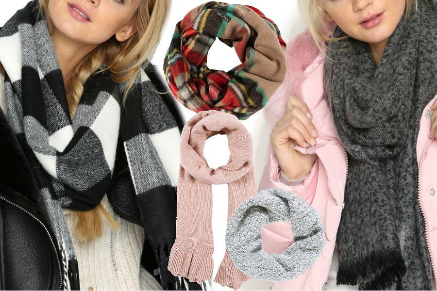 fot. materiały partnera. modne szaliki na jesień