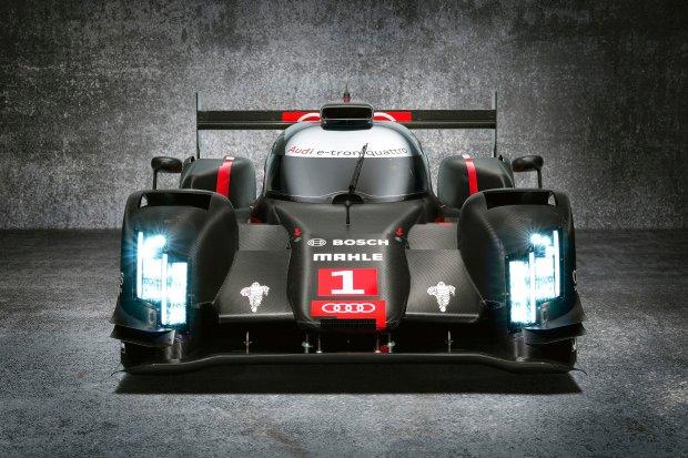 Laserowe światła w Audi R18 e-tron quattro
