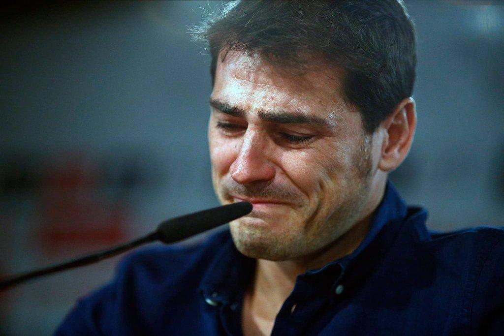 Iker Casillas rozpłakał się podczas pożegnania z Realem Madryt