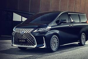 Lexus LM - i to się nazywa porządny grill