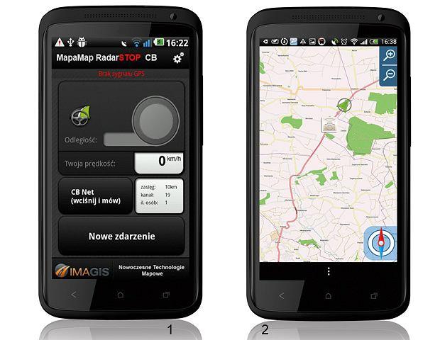 Testy: aplikacje antyradarowe, aplikacja, samochody, testy, Aplikacje antyradarowe 1. RadarStop CB; Cena: 30 zł, 2. Navatar CB; Cena: 3 zł lub 1,80 euro