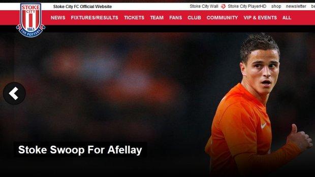 Premier League. Ibrahim Afellay podpisał kontrakt ze Stoke City
