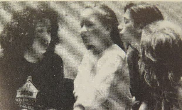 iHere is Prince Harrys bride-to-be Meghan Markle as an 11-year-old schoolgirl. Pretty Meghan is seen receiving her diploma, hanging out with friends and posing at an ice rink in a yearbook from her elementary school, Hollywood Little Red School House. The photos were taken in June 1993. Meghan is set to wed Harry in May 2018.  Pictured: Meghan Markle (far left) aged 11 in 1993     Splash News and Picture Agency does not claim any Copyright or License in the attached material. Any downloading fees charged by Splash are for Splashs services only, and do not, nor are they intended to, convey to the user any Copyright or License in the material. By publishing this material , the user expressly agrees to indemnify and to hold Splash harmless from any claims, demands, or causes of action arising out of or connected in any way with users publication of the material.