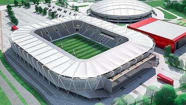Stadion ŁKS-u Łódź po przebudowie