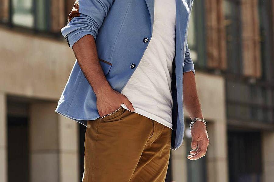spodnie męskie na wiosnę