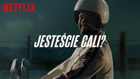 'Sky Rojo' Netfliksa - Conrado Moreno na skuterze promuje hiszpański serial. 'Jesteście cali?'