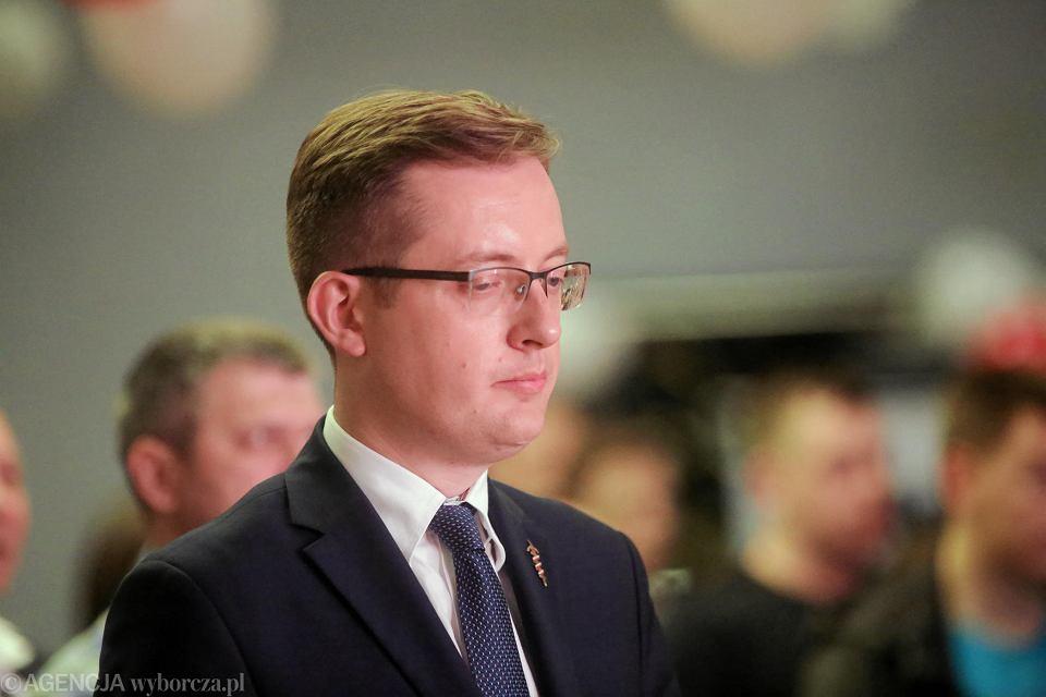 Eurowybory 2019, Białystok. Robert Winnicki