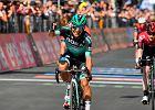 Giro d'Italia: życiowy sukces Cesare Benedettiego, który wygrywa 12. etap Giro!