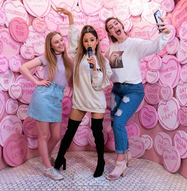 Ariana Grande w Muzeum Figur Woskowych Madame Tussaud