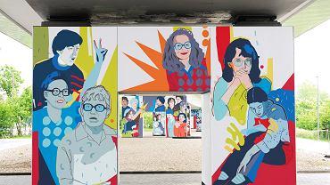 Mural 'Kobiety Wolności'