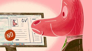 Gdy szukałam pracownika, nie chciałam listów motywacyjnych ani CV. Po wstępnej selekcji każdego wygooglowałam