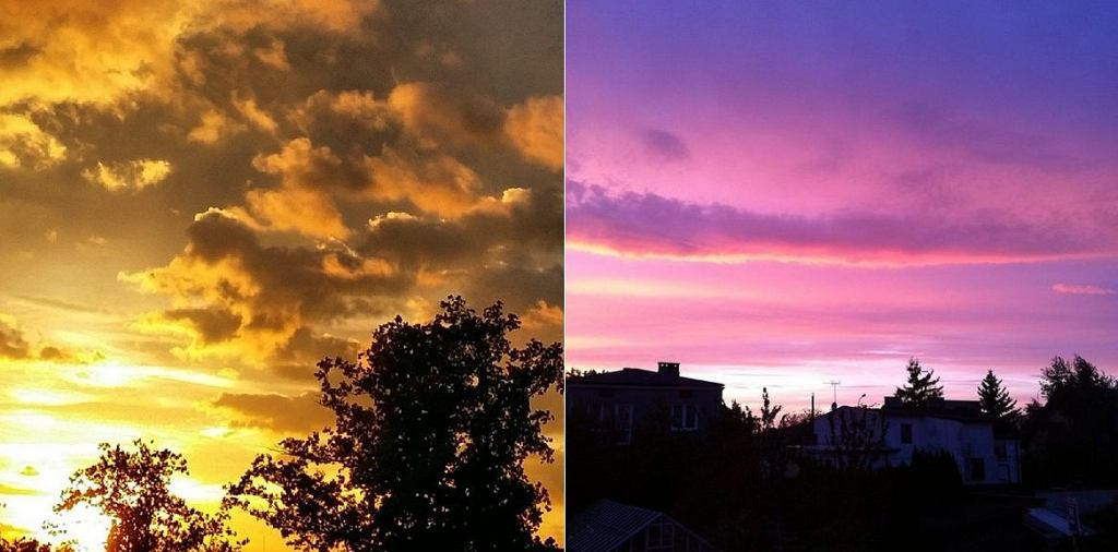Wieczorne niebo