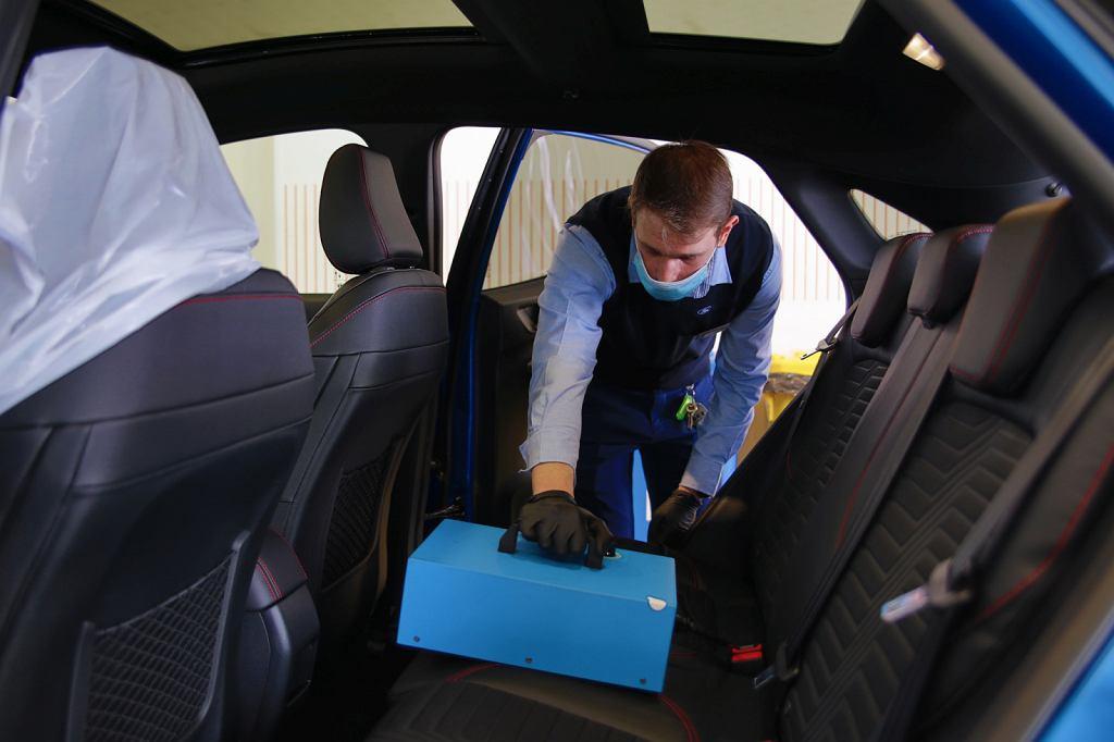 Dezynfekcja klimatyzacji, ozonowanie samochodu