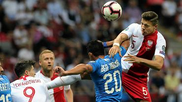 Polska - Izrael 4:0. Jan Bednarek