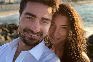 Jan Kliment z żoną na wakacjachTancerz podarował żonie wyjątkowy prezent