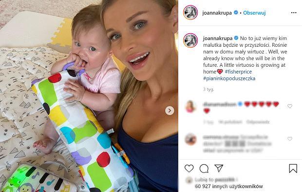 Joanna Krupa pokazała pokój dziecka. Fani chwalą za normalny, niewymuskany instagramowo pokój