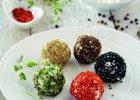 Kolorowe kulki serowe - Zdjęcia