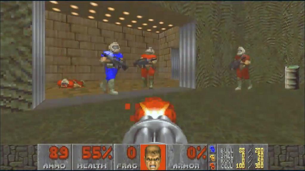 Doom w trybie Deathmatch