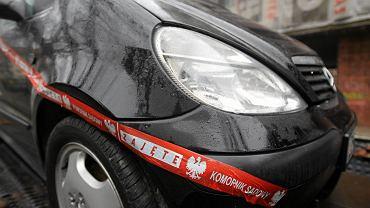 Auto zajęte przez komornika. Szczecin, 10 grudnia 2013