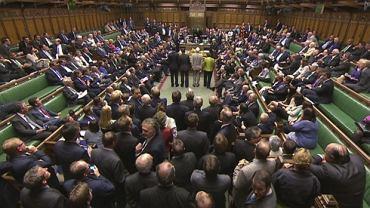Brytyjscy parlamentarzyści podczas debaty dotyczącej interwencji w Syrii