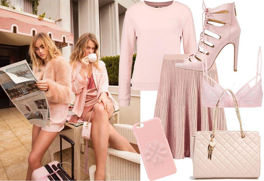 Millennial pink - ubrania i dodatki