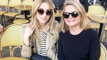 Kasia Tusk z mamą