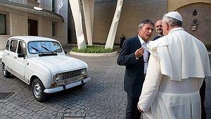 Renault 4 | Nowe auto papieża
