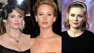 Kate Upton, Jennifer Lawrence, Kirsten Dunst