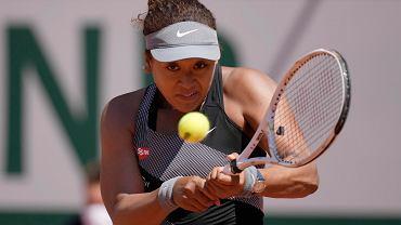 Naomi Osaka podczas Rolanda Garrosa w 2021 roku