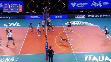 Niesamowita akcja w meczu polskich siatkarzy z Rosją