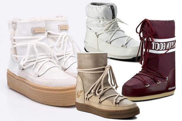 Buty Po Nartach Sniegowce Dla Kobiet I Mezczyzn W Okazyjnych Cenach