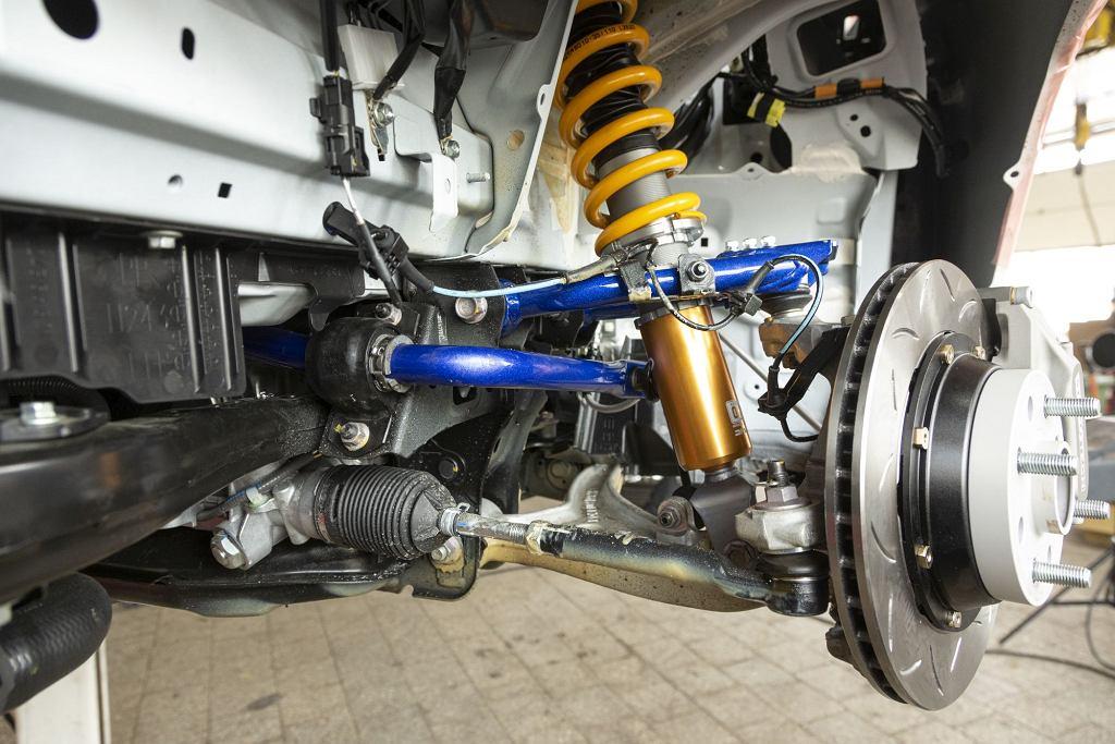 Mazda MX-5 Cup - zawieszenie Ohlins