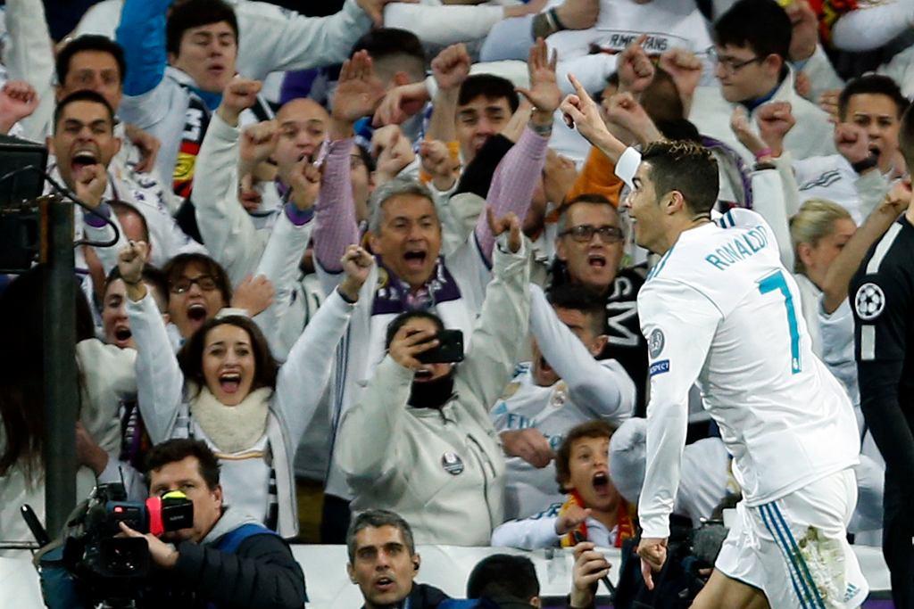 Cristiano Ronaldo, Real Madryt, Liga Mistrzów