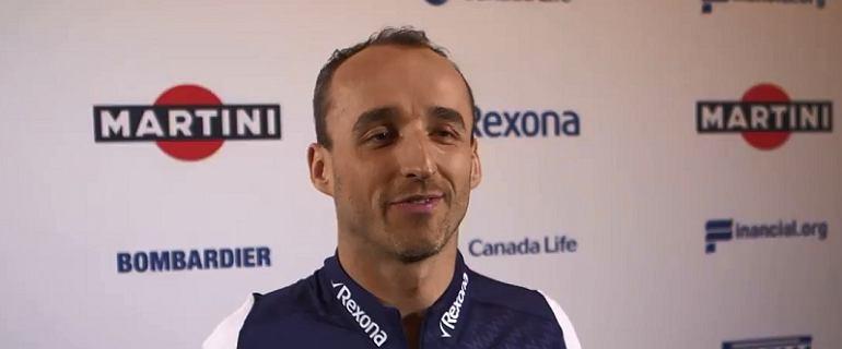 F1. Robert Kubica: Swoją decyzję już podjąłem