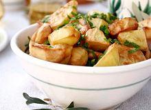 Pieczone ziemniaki z sosem z oliwy i ziołami - ugotuj