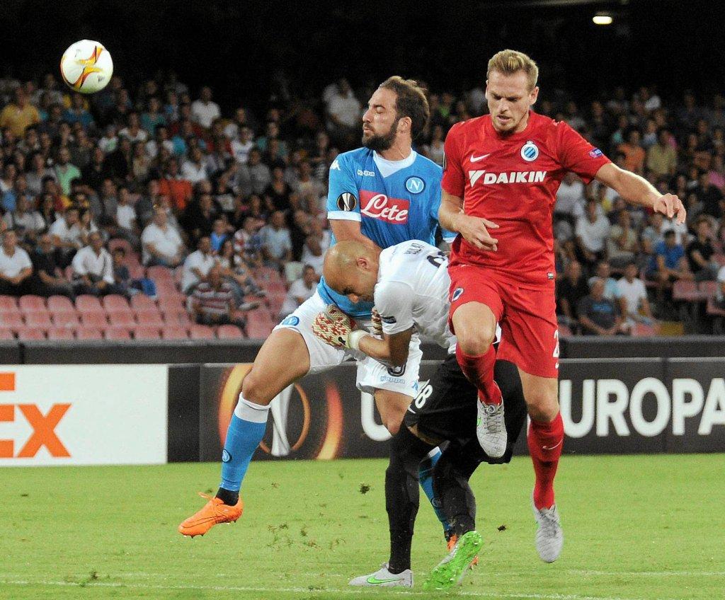 Napoli - Club Brugge 5:0