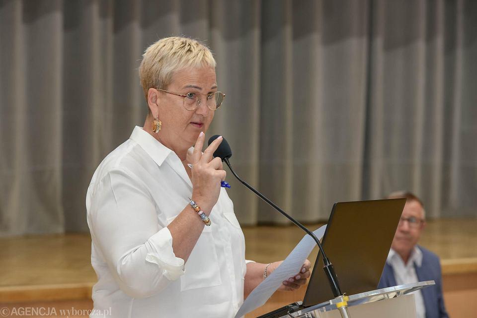 Wioleta Haręźlak,  przewodnicząca sejmiku lubuskiego