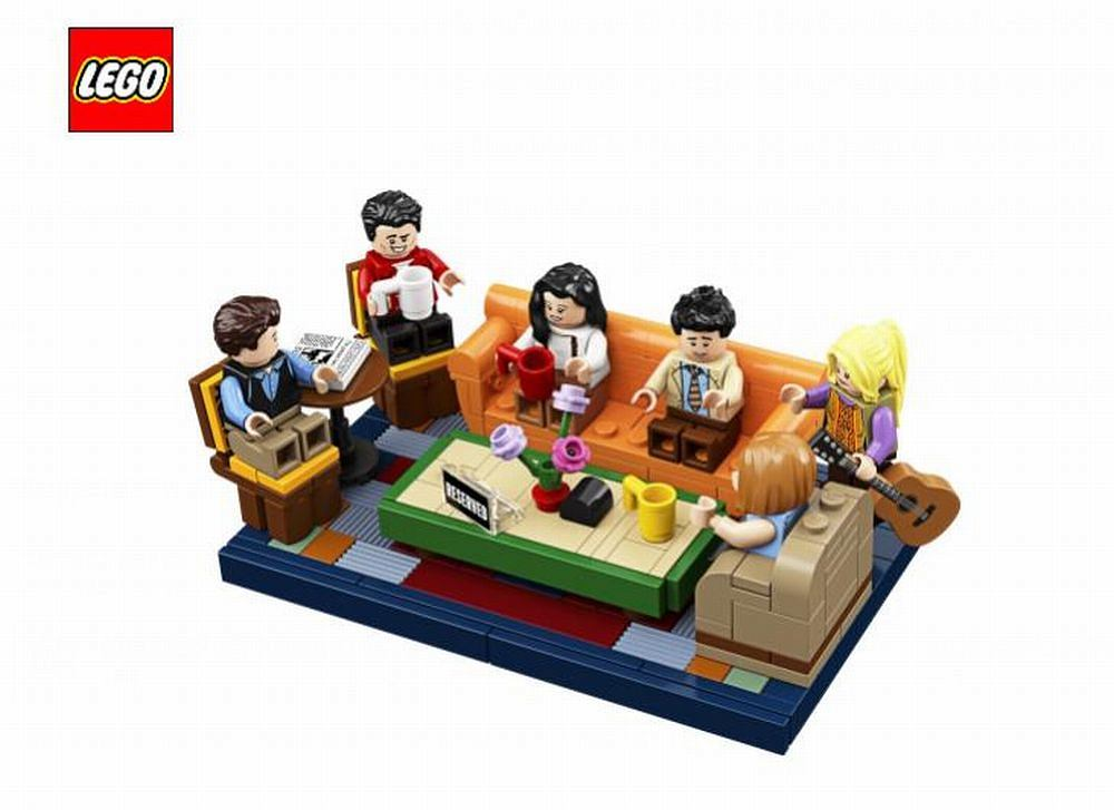 Zestaw kolekcjonerski LEGO Ideas Central Perk