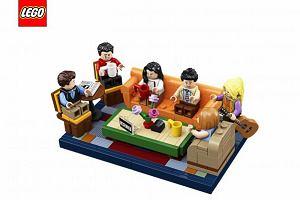 """Czy może być coś bardziej ekscytującego niż Central Perk i serial """"Przyjaciele"""" w wersji LEGO?"""