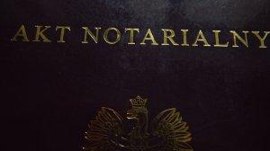 Akt notarialny działki budowlanej