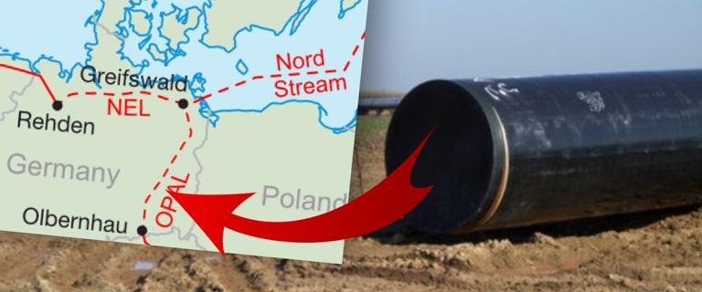Przykręcony kurek z gazem dla Gazpromu. Operator gazociągu Opal ogranicza przesył