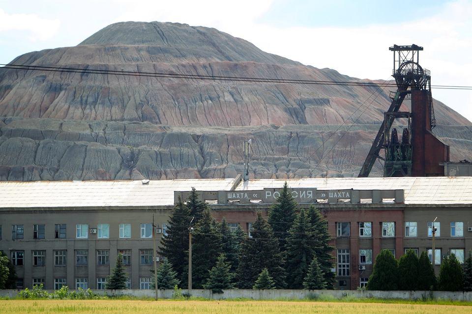 Kopalnia węgla kamiennego 'Rosja' w Doniecku