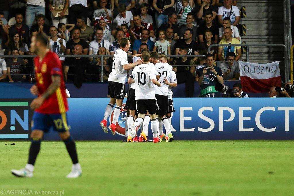 Stadion Cracovii, finał Euro U21. Niemcy-Hiszpania 1:0