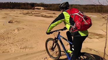 turystyka rowerowa z plecakiem