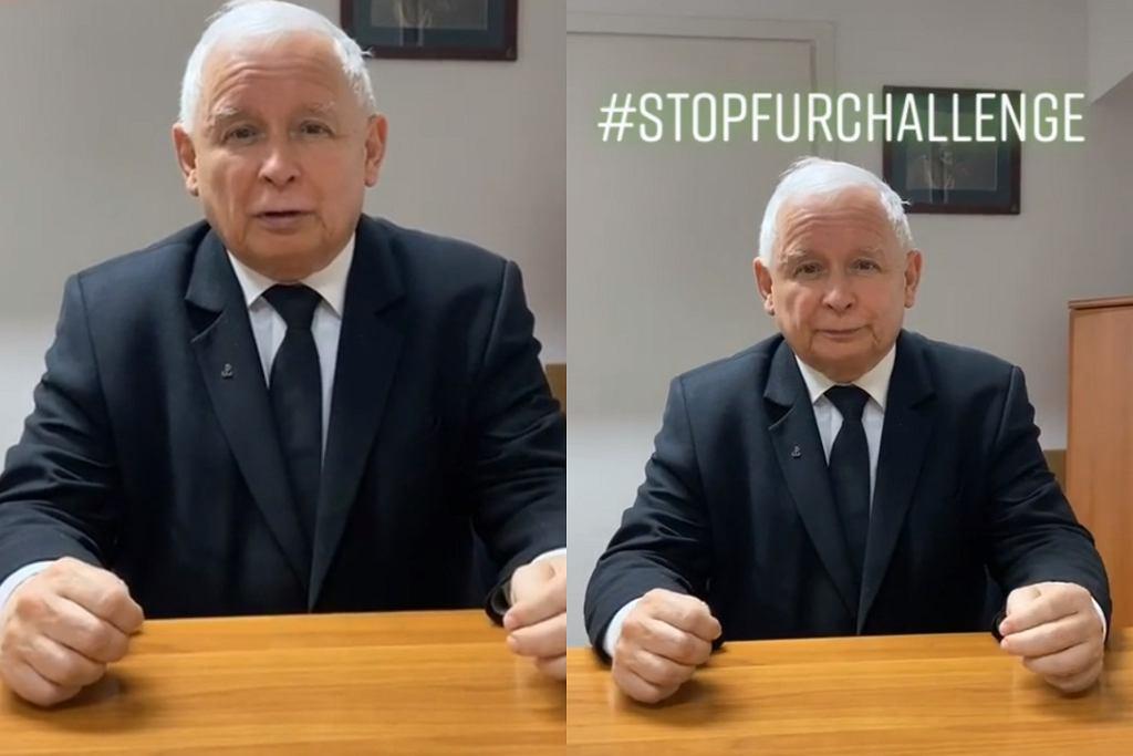 Jarosław Kaczyński - tik tok