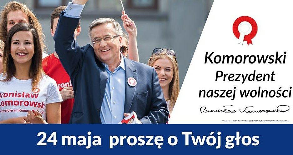 Bronisław Komorowski i Hanna Zdanowska w Łodzi