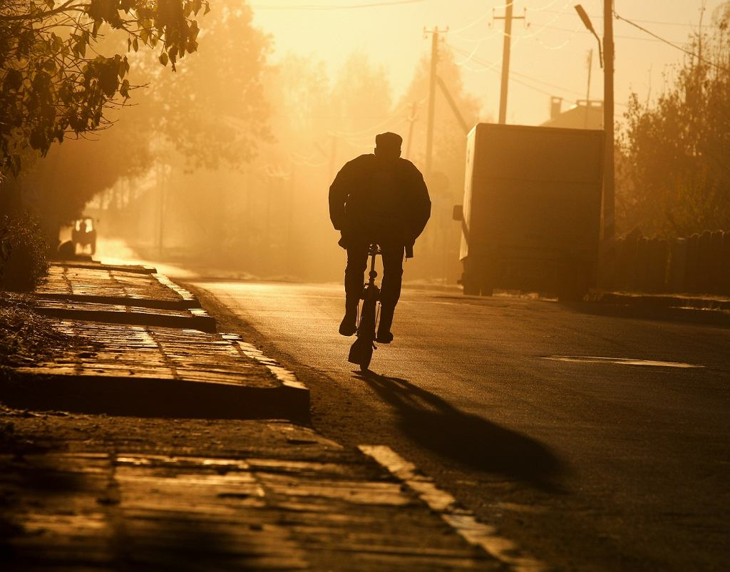 koniec promowania przez rząd ruchu rowerowego